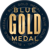 Blue Gold Medal WInner