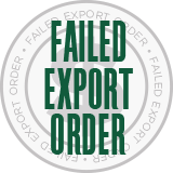 Failed Export Order