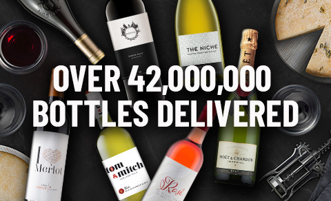Over 40 million bottles delivered